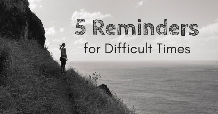 5 Reminders