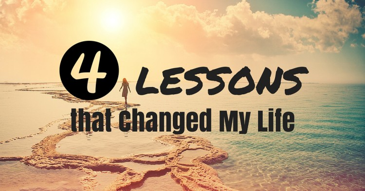 Four Lessons that Changed My Life (1)