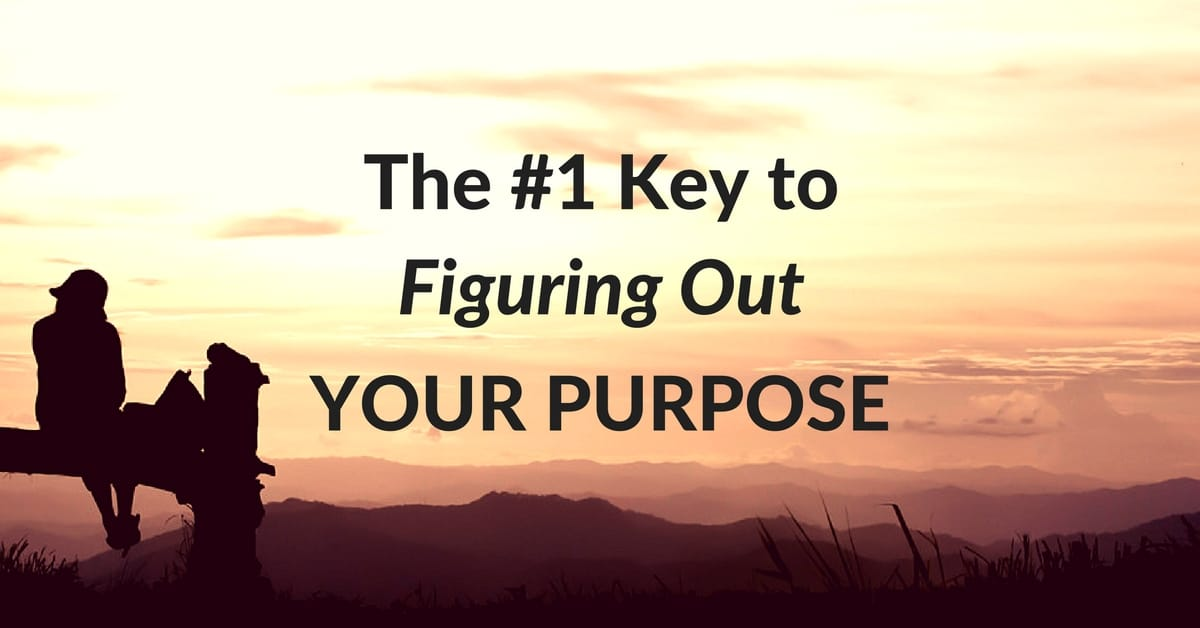 the-1-key-tofiguring-outyour-purpose