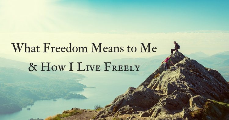 What Freedom Means to Me