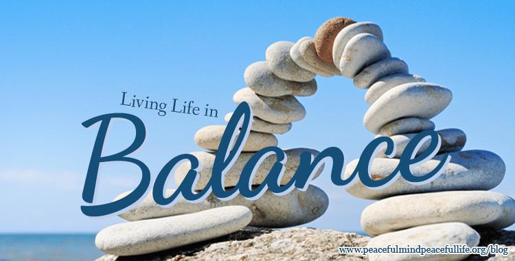Living a Peaceful Life